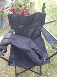 New collapsible camping chair with carrying case