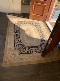 Aubusson 5x7 area rug