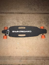 Electric longboard.