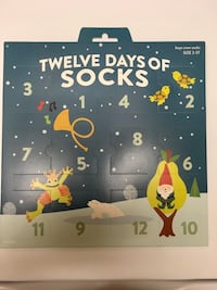 New- 12 Days of Socks Virginia Beach, 23455