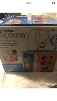 New imagerium discovery 5 activity cube