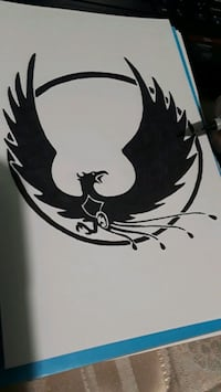 Black and White Tattoo drawing St. Cloud