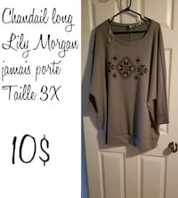 women's gray and black long sleeve dress Longueuil, J4K 4T6
