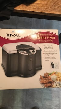 Rival deep fryer box Villa Rica, 30180