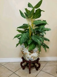 Artificial Plant with Vase & Stand Ajax, L1Z 1J4
