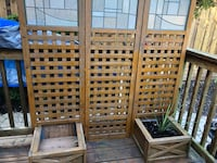 Outdoor privacy screens/ dividers. 2 of them Mississauga