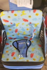 Travel booster seat  53 km