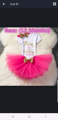 1st birthday outfits Mississauga, L4T 3M9