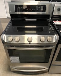 LG stainless steel glass top stove 10% off Reisterstown, 21136