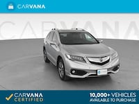 2017 *Acura* *RDX* Sport Utility 4D suv Silver Fort Myers