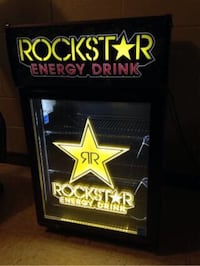 Rockstar ENERGY counter cooler  Redlands