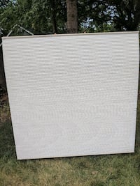 Ivory double honeycomb shade