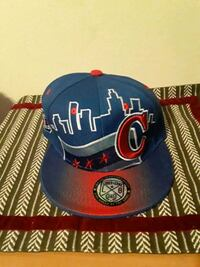 blue and red Chicago Bulls snapback cap Waterloo