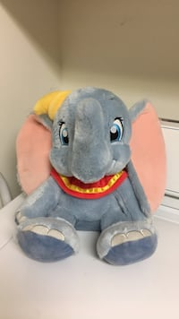 "Disney 10"" Dumbo Plush Huntersville, 28078"