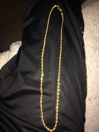 """18K Gold Plated 18"""" Chain Calgary, T3K"""