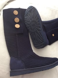 OPEN TO OFFERS brand new never been outside ugg boots size 9 dark blue