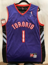 Tracy McGrady Throwback Raptors  Cambridge, N3H 0A8
