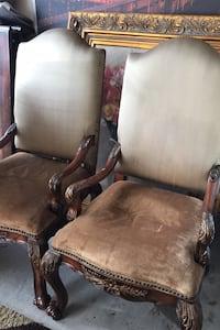 2 classical chairs vintage