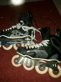 pair of black-and-gray inline skates Kennesaw, 30144