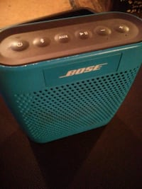 blue and black portable speaker Colorado Springs, 80909