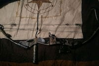 black and gray compound bow Winters, 79567
