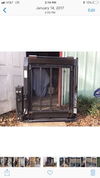 black and gray space heater 1026 mi
