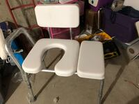 Invacare Padded Shower Chair Bench