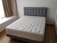 ⭐Queen Plush Pillowtop Mattress & Boxspring (WITH FREE DELIVERY) London, N6G
