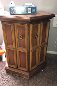 Cabinet side table