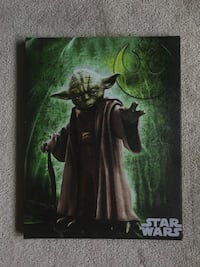 Star Wars Yoda painting Clarington, L1C 0K9