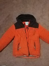 black and orange zip-up windbreaker Edmonton, T6J