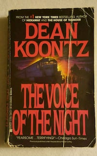 The Voice of the Night by Dean Koontz  North Brunswick Township, 08902