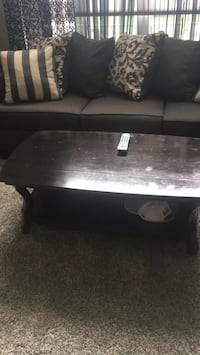 rectangular black wooden coffee table Worcester, 01607