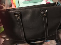 Gap black leather Handbag Aurora, L4G