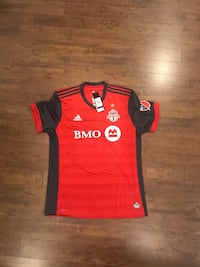 red and black Adidas jersey shirt Vaughan, L4L 1S2