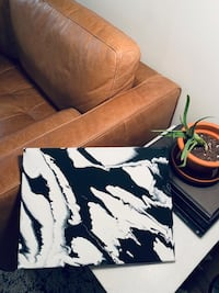 Black and white marble painting Toronto, M6K 3R7