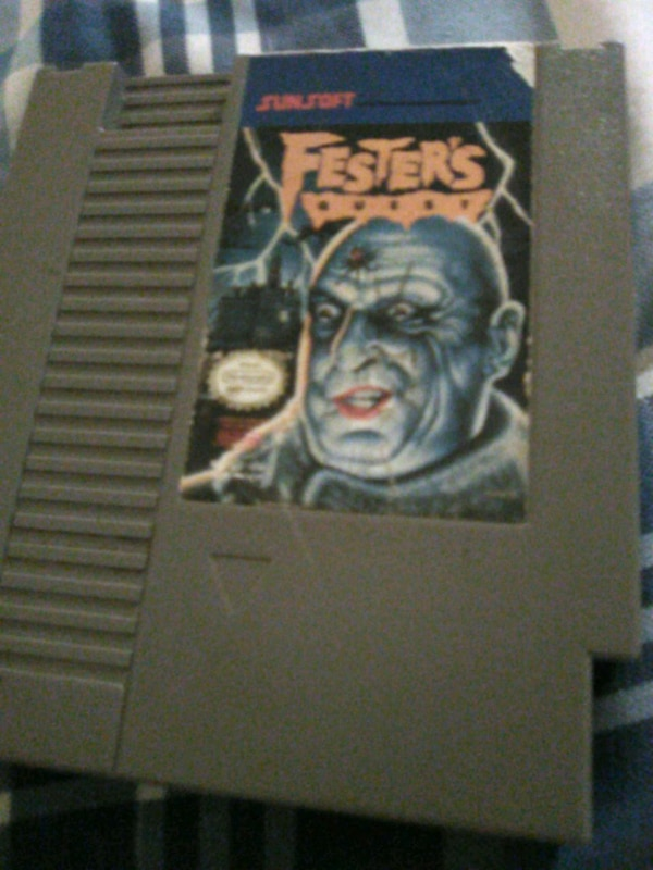Nintendo the Adams Family Uncle Fester