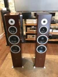 two black-and-gray speakers Laval, H7L 5Y7