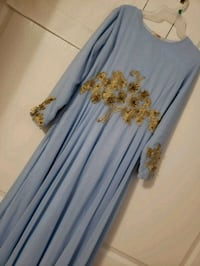 Beautiful wedding abaya dress Size M Vaughan, L4H 2L3