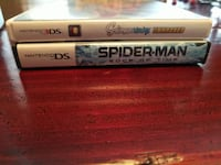 DS games. Spiderman and Scribblenauts unmasked.