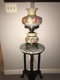 Authentic Antique Antique Handpainted Authentic Gone with the Wind Hurricane Lamp Fairfax, 22033