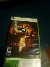 Xbox 360 Resident Evil case Wantage, 07461