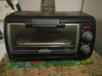 black toaster oven