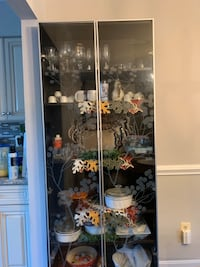 Ikea China with engraved decorated glass doors Fairfax, 22033