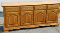 brown wooden 6-drawer lowboy dresser Modesto, 95356