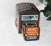 CANDY TIN MILK TRUCK 2 PART CANISTER VEHICLE HERSHEY'S CHOCOLATE Mississauga, L4X 1S2