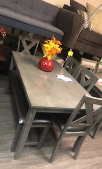 Dining set 6 pcs Special $350
