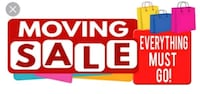 Moving sale  Los Angeles