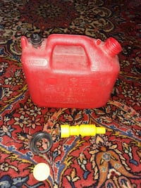 1 Gallon Portable Gas Can Gas Tank
