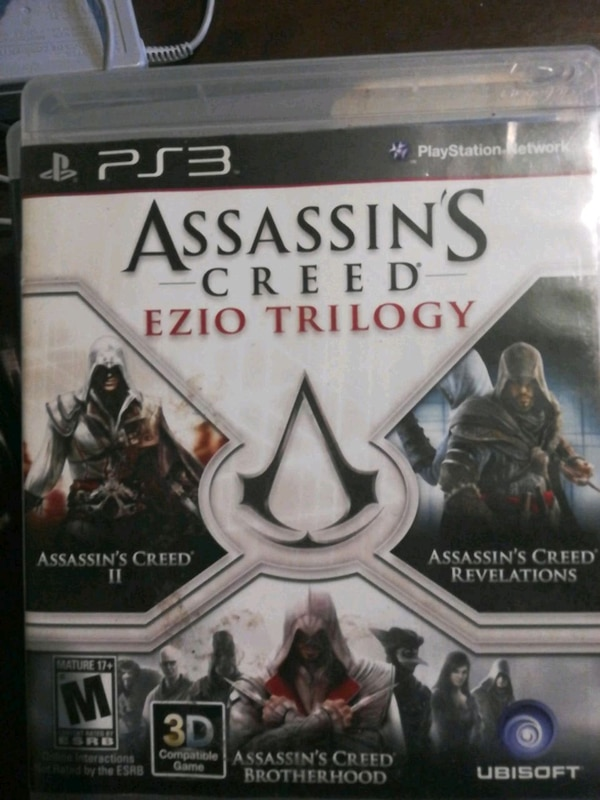 Assassins creed ezio trilogy PS3 + coin 3339278f-7c64-4634-a992-51beb2157df5